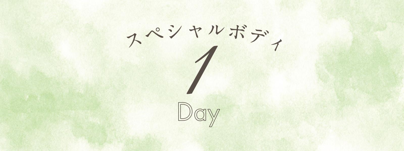 スペシャルボディ1Day